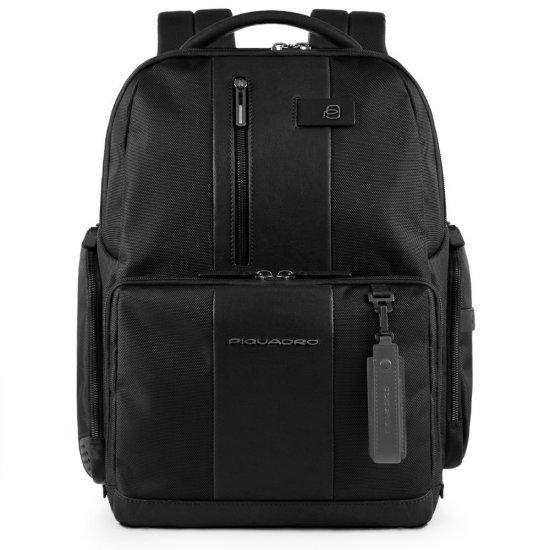 BagMotic Раница за 15,6 инча лаптоп с кодова ключалка в черен цвят - Бизнес раници