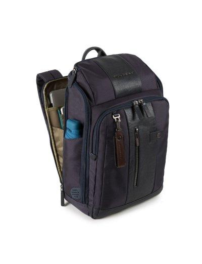 """Brief Раница с отделение за 14"""" лаптоп в тъмно син цвят - Сравняване на продукти"""