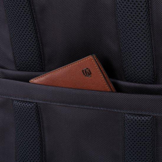 """Brief Раница с отделение за 15.6"""" лаптоп синьо камуфлаж - Бизнес раници"""