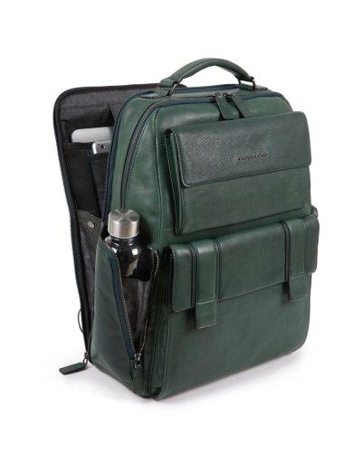 KOBE Раница за 15,6 инча лаптоп подходяща за ръчен багаж на борда на самолет в тъмно кафяв цвят - Сравняване на продукти