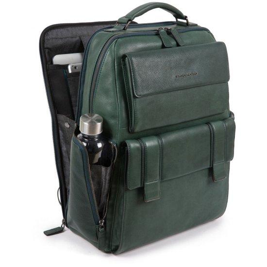 KOBE Раница за 15,6 инча лаптоп подходяща за ръчен багаж на борда на самолет в черен цвят - Бизнес раници