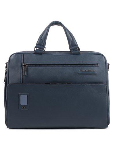 """AKRON Чанта с отделение за iPad AIR - iPad Pro 9,7/iPad 11"""" и 14"""" лаптоп в син цвят - Сравняване на продукти"""