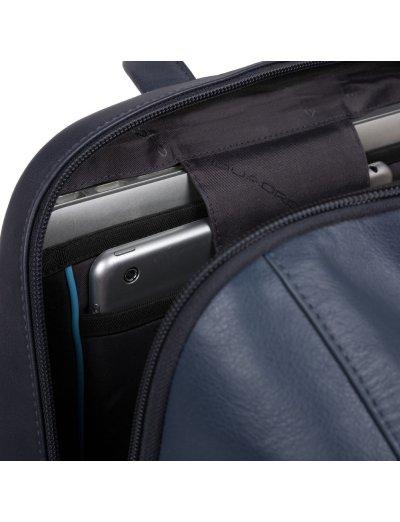 """HAKONE Голяма раница за 15,6 инча лаптоп и iPad AIR - iPad Pro 9,7/iPad 11"""" в син цвят - Сравняване на продукти"""
