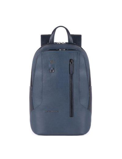 HAKONE Раница за 14 инча лаптоп и RFID  в син цвят - Connequ