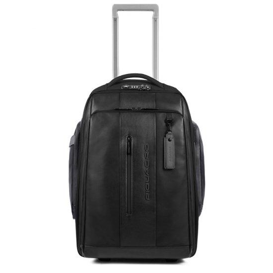"""BagMotic Раница на 2 колела с отделение за 15,6"""" лаптоп и iPad® в черен цвят - Бизнес раници"""