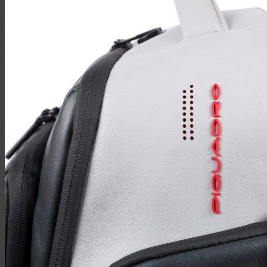 """BagMotic Раница на 2 колела с отделение за 15,6"""" лаптоп и iPad® в сив цвят - Бизнес раници"""