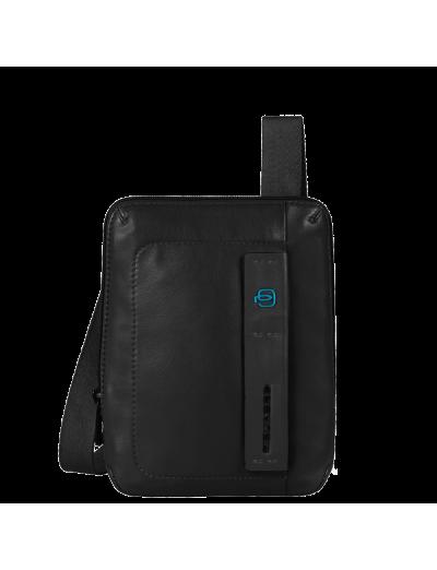 Pulse Компактна вертикална чантичка за рамо с отделение за iPad mini/iPad mini3 черен цвят - Чанти за рамо и кръст