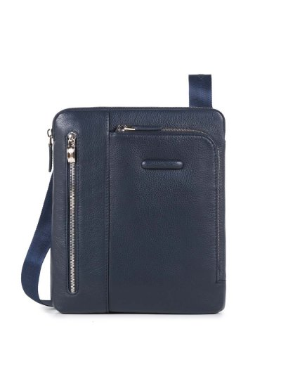 Modus Компактна вертикална чантичка за рамо с отделение за iPad Air/Air2 в син цвят - Чанти за рамо и кръст