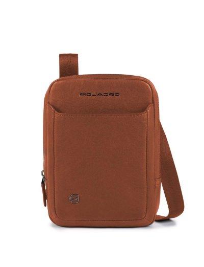 Black Square Вертикална чантичка за рамо с отделение за iPad®mini светло кафяв цвят - Сравняване на продукти