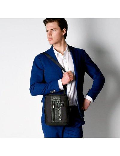 Brief Вертикална чантичка за рамо с отделение за iPad AIR - iPad Pro 9,7 в тъмно син цвят - Сравняване на продукти