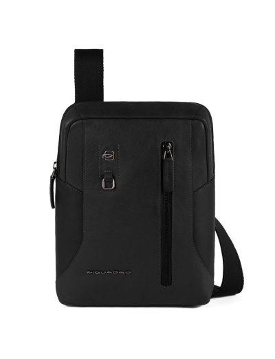 """HAKONE Вертикална чантичка за рамо с отделение за iPad AIR - iPad Pro 9,7/iPad 11"""" в черен цвят - Сравняване на продукти"""