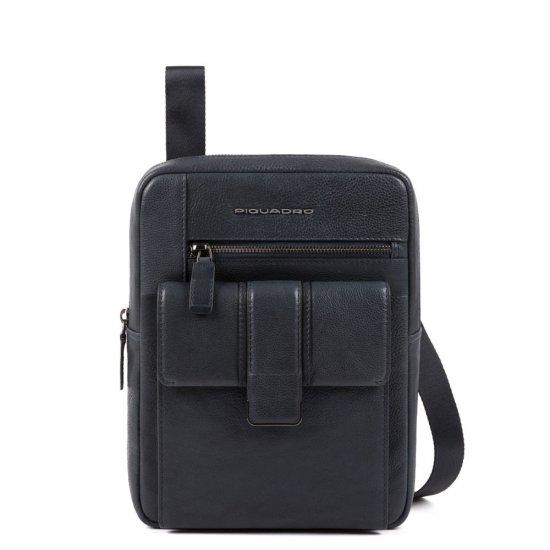 KOBE Вертикална чантичка за рамо с отделение за iPad AIR - iPad Pro 9,7 в син цвят - Чанти за рамо и кръст