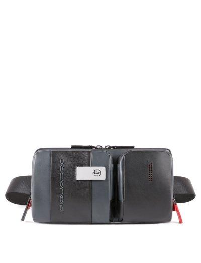 Urban чанта за през кръст сиво/черно - Connequ