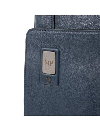 """AKRON Вертикална чантичка за рамо с отделение за iPad AIR - iPad Pro 9,7/iPad 11"""" черен цвят - AKRON"""