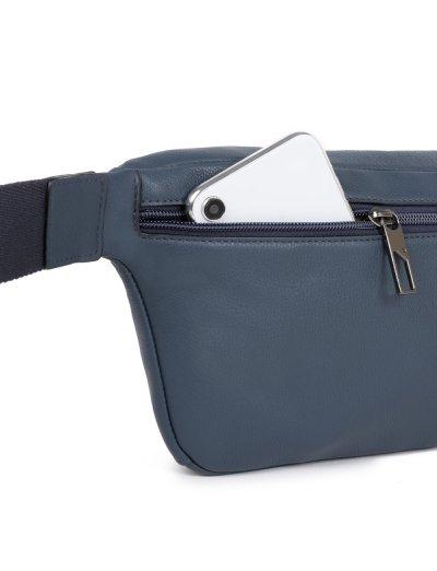AKRON Чанта за през кръст в черен цвят - Чанти за рамо и кръст