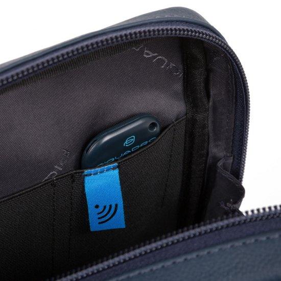 AKRON Компактна вертикална чантичка за рамо с отделение за iPad mini/iPad mini3 в черен цвят - Чанти за рамо и кръст