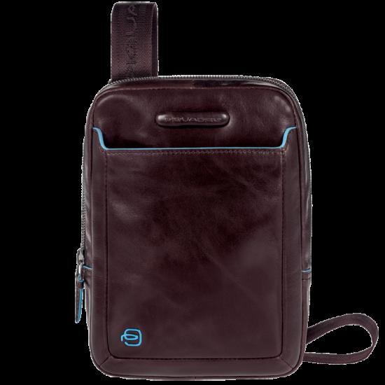 Blue Square Компактна вертикална чантичка за рамо с отделение за iPad mini/iPad mini3 в цвят махагон - Чанти за рамо и кръст