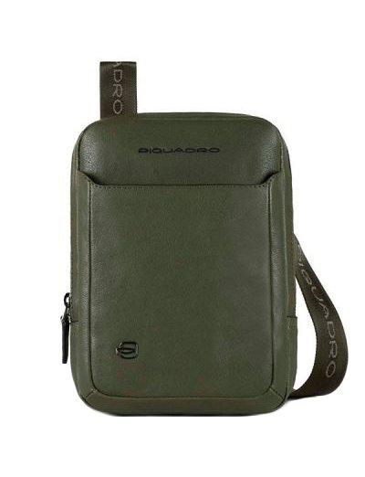 Black Square Вертикална чантичка за рамо с отделение за iPad®mini тъмно зелен цвят - Сравняване на продукти