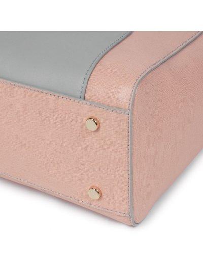 Дамска чанта с отделение за iPad®/iPad®Air/Air2 в син цвят -