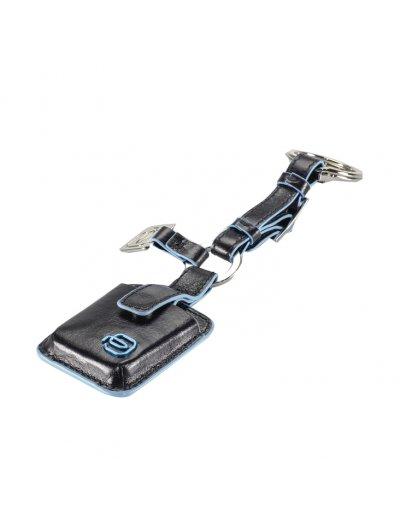 Луксозен ключодържател с проследяваща система CONNEQU в син цвят - Ключодържатели