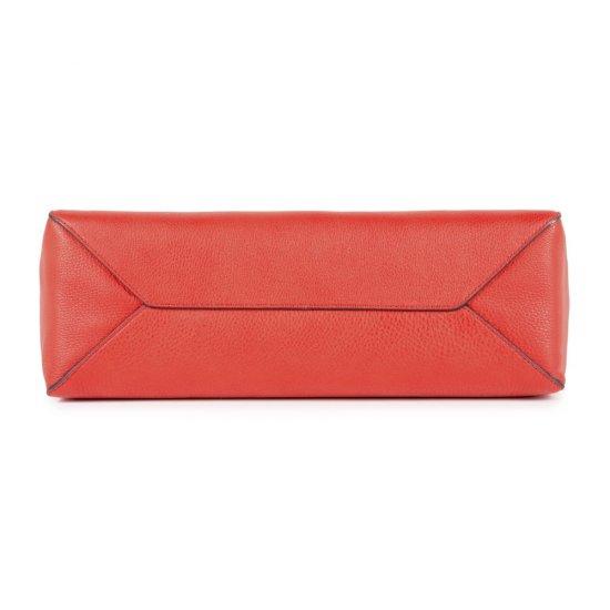 Дамска чанта с отделение за iPad®Air/Pro 9,7 в червен цвят - Дамски бизнес чанти