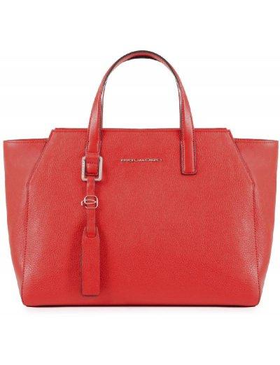 Дамска чанта с отделение за iPad®Air/Pro 9,7 в червен цвят - Сравняване на продукти